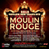 New Year's Eve 2018 at the Pavilion – A Night at the Moulin Rouge