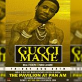 Gucci Mane Live at the Pavilion