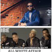ALL WHITE AFFAIR featuring Dru Hill, Raheem Devaughn and Kid Capri