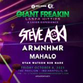 Giant Freaking Laser Kitties with Steve Aoki